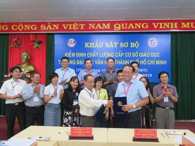 Khảo sát sơ bộ phục vụ đánh giá ngoài kiểm định chất lượng giáo dục tại Trường Đại học Văn hóa TP. Hồ Chí Minh