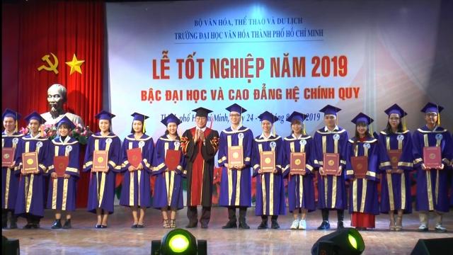 Lễ bế giảng và trao bằng tốt nghiệp bậc đại học và cao đẳng hệ chính quy Đợt 1- năm 2019