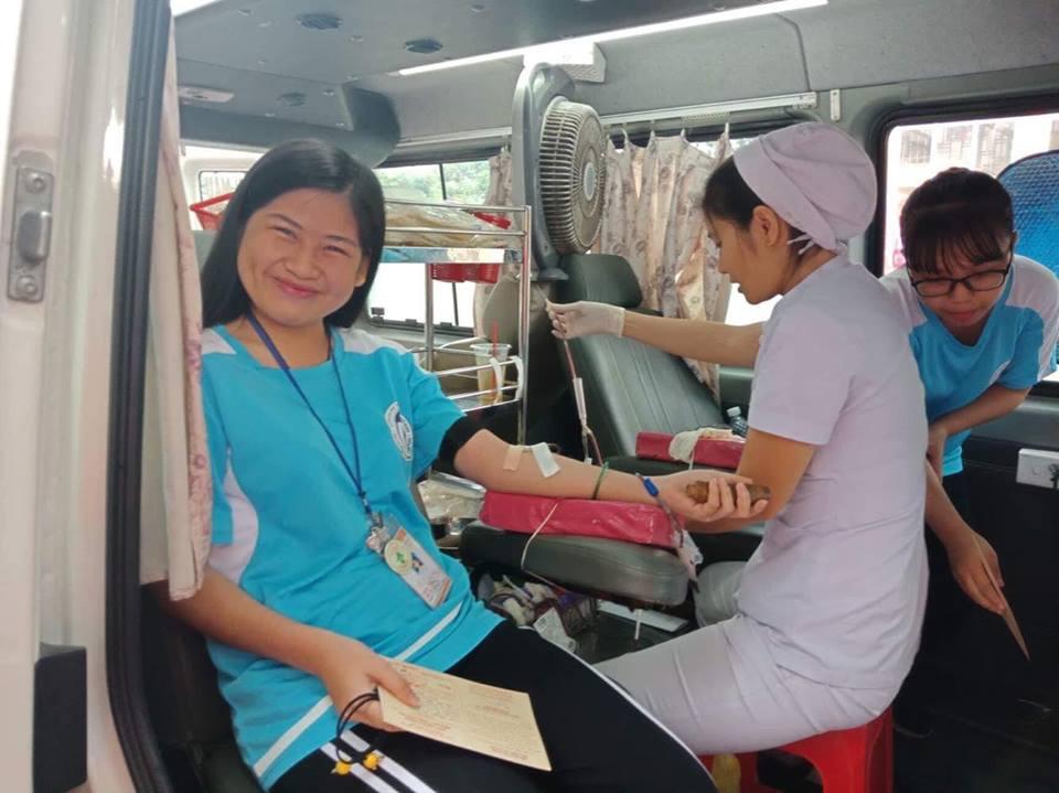 Tuổi trẻ Trường Đại học Văn hóa TP. Hồ Chí Minh với Ngày hội Hiến máu cứu người lần 1-2018.