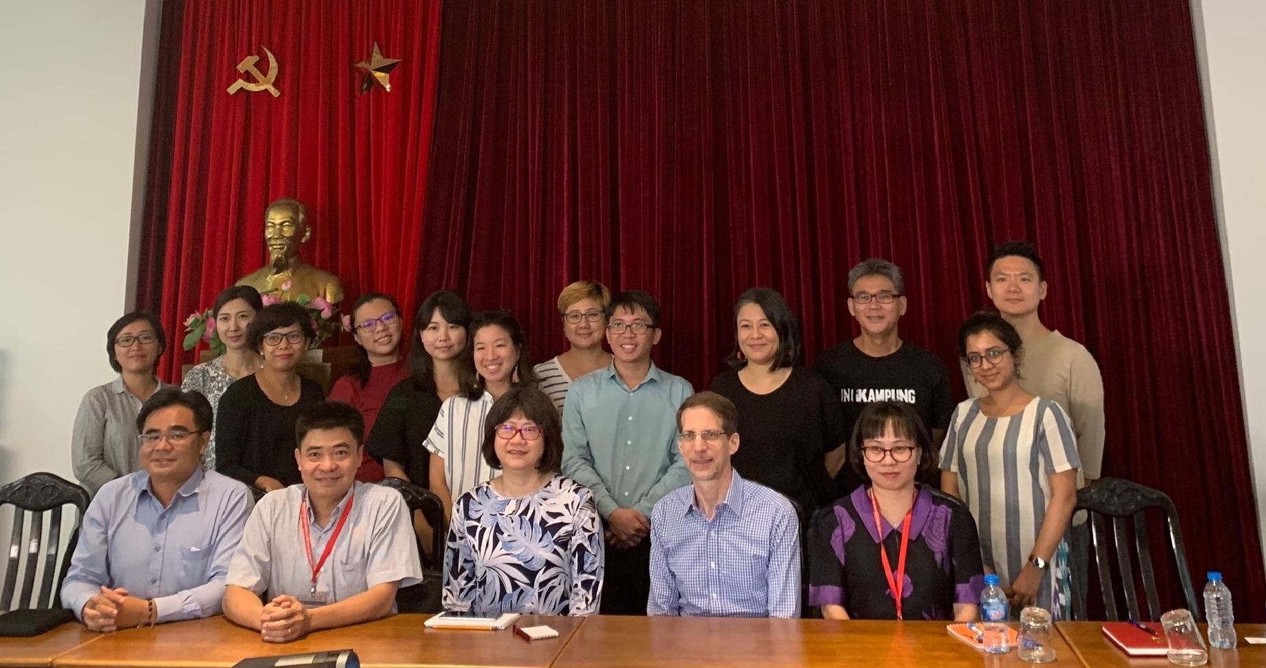 Buổi làm việc giữa Trường Đại học Văn hóa Tp. Hồ Chí Minh và Trường Nghệ thuật Lasalle, Singapore