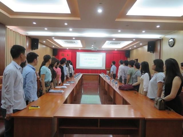 Lễ khai mạc thi tuyển viên chức năm 2018