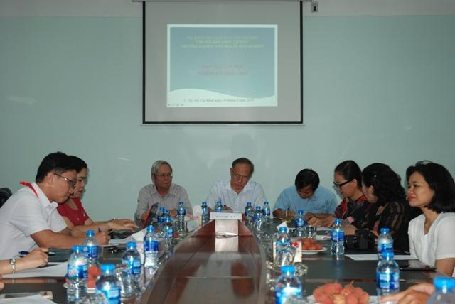 Đại hội Chi hội Khoa học lịch sử Trường Đại học Văn hóa TP. Hồ Chí Minh lần thứ VI (nhiệm kỳ 2018 – 2023)