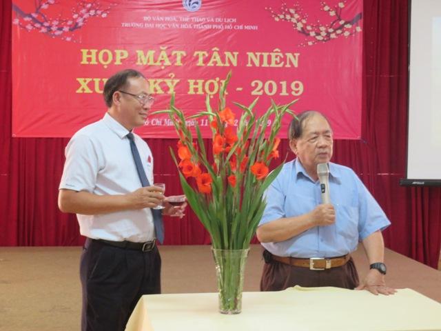 Trường Đại học Văn hóa TP. Hồ Chí Minh ấm áp ngày đầu năm