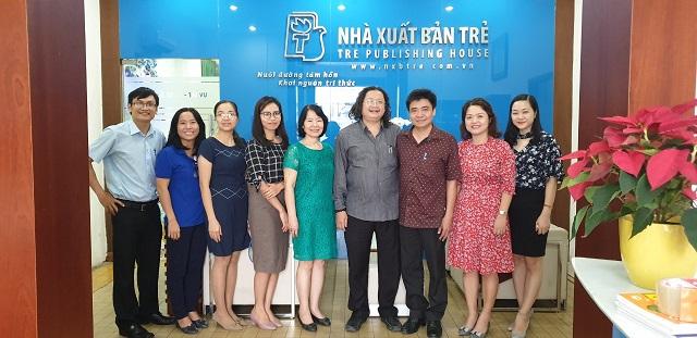 Trường ĐH Văn hóa TP.HCM, khoa Xuất bản thỏa thuận hợp tác với Nhà xuất bản Trẻ