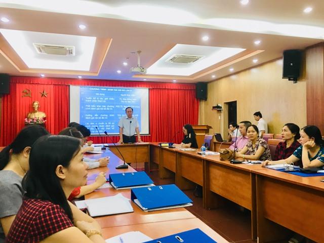 Trường Đại học Văn hóa TP. Hồ Chí Minh tổ chức đánh giá nội bộ lần thứ 01 về quản lý chất lượng theo chuẩn ISO 9001:2015