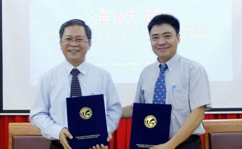 Lễ ký kết thỏa thuận hợp tác đào tạo nguồn nhân lực ngành Văn hóa dân tộc thiểu số Việt Nam