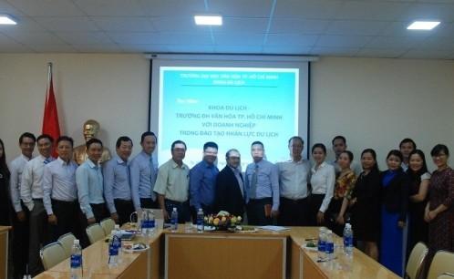 Khoa Du lịch - Trường Đại học Văn hóa Tp. Hồ Chí Minh - Nơi đào tạo nguồn nhân lực chất lượng cao cho ngành du lịch