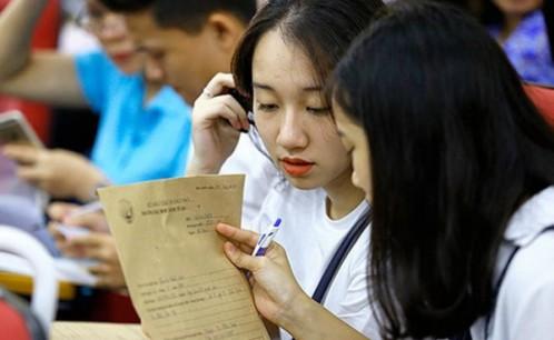 Mẫu phiếu xét tuyển sinh hệ vừa làm vừa học (Đại học, văn bằng 2, liên thông)
