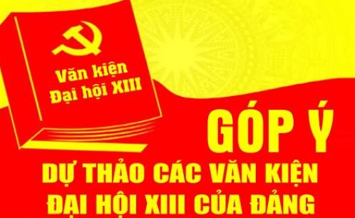 Thông báo  về việc công bố, lấy ý kiến đối với dự thảo các văn kiện Đại hội XIII của Đảng