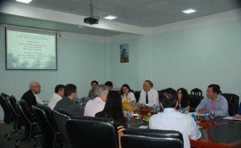 Trường Đại học NIAGARA, Hoa Kỳ và Tập đoàn IMPERIAL thăm và làm việc với trường Đại học Văn hóa Tp. Hồ Chí Minh