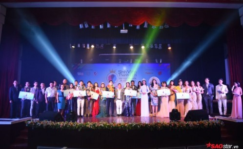 Nam Vương & Hoa Khôi sinh viên thanh lịch ĐH Văn Hóa khiến cả khán đài vỗ tay không ngớt vì quá xứng đáng