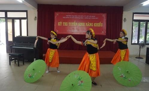Những kinh nghiệm quý giá khi thi tuyển năng khiếu vào trường Đại học Văn hóa TP.HCM