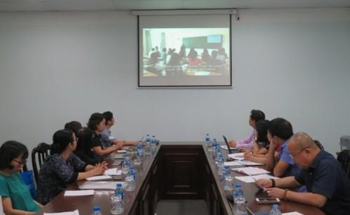 Trường Đại học Văn hóa TP. Hồ Chí Minh làm việc với Đoàn cán bộ Cục sở hữu trí tuệ và các tổ chức văn hóa, nghệ thuật khu vực phía Nam
