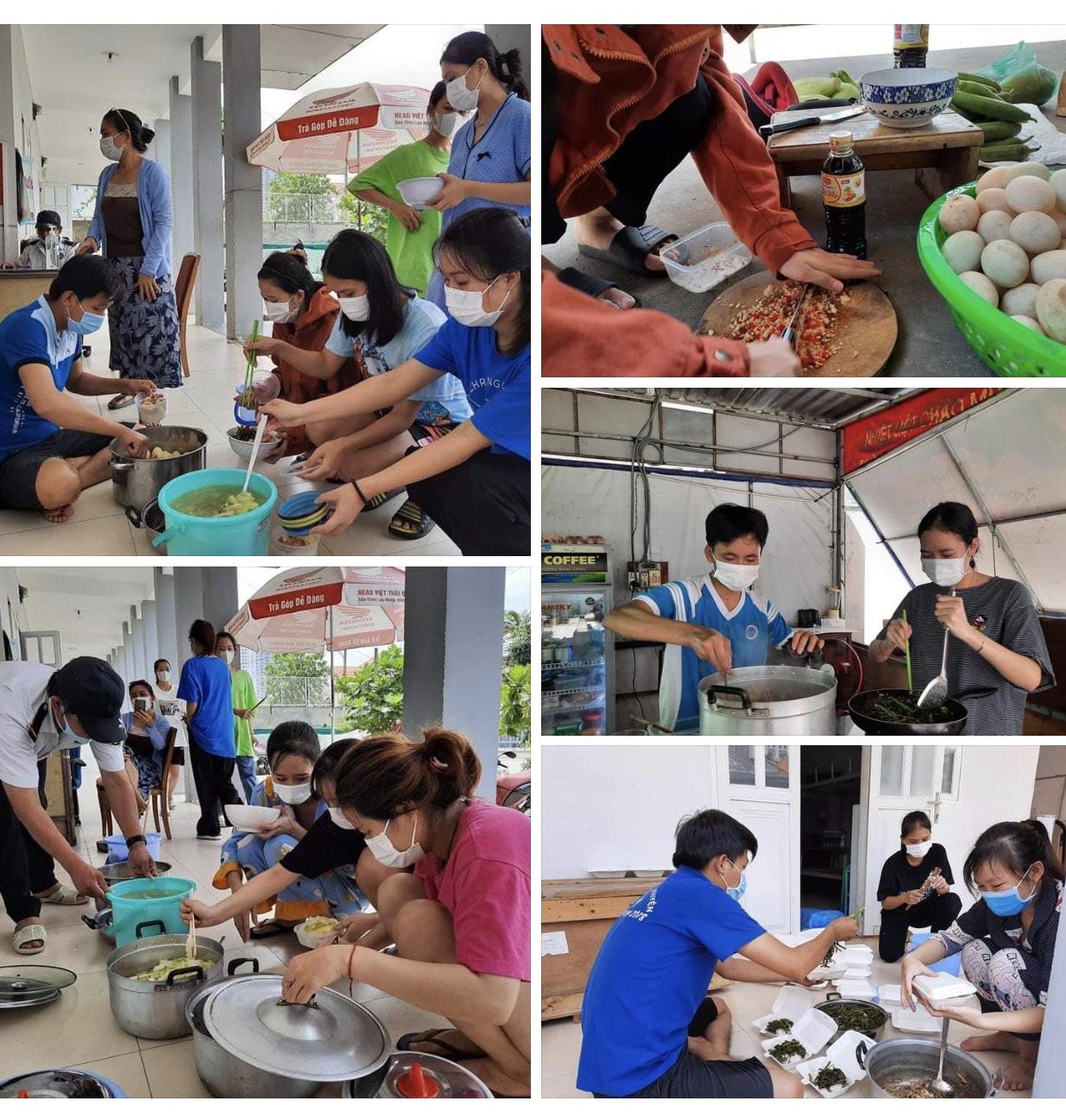 Bếp ăn sinh viên Văn hóa – Nơi đong đầy tình yêu thương giữa tâm dịch COVID-19.