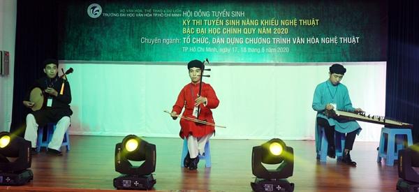 Trường ĐH Văn hóa TP.HCM nhận hồ sơ ĐKXT học bạ đến ngày 9.7