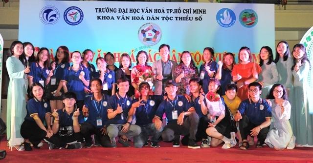 Tưng bừng ngày hội các dân tộc Việt Nam năm 2021 tại trường Đại học Văn hóa Tp. Hồ Chí Minh